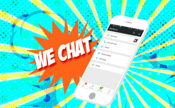 We Chat Illustration