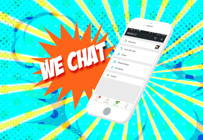We Chat Illustration