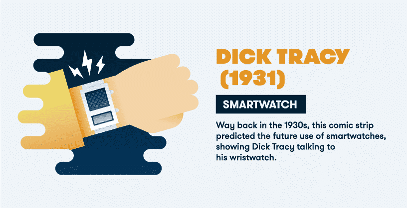 IoT tech predictions - dick tracy smartwatch