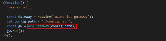 Microsoft's IoT Edge - Coding