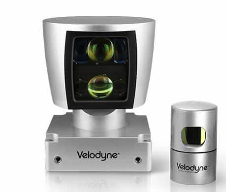 3D Velodyne LiDAR camera