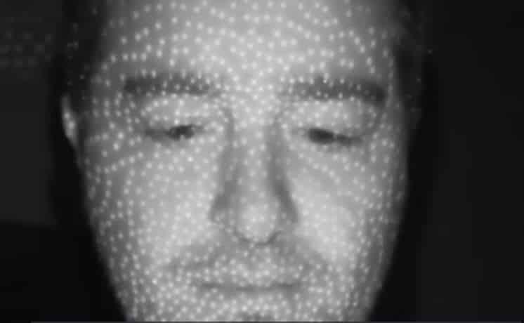 3D Vision Camera: iPhoneX dot projection