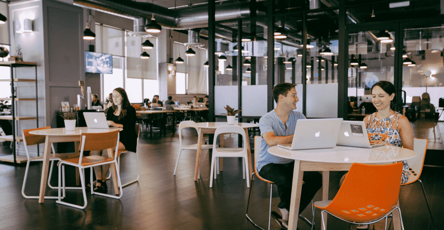smart office space at wework labs