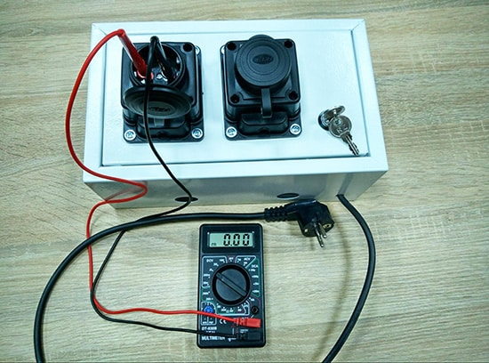 EV Charger prototype