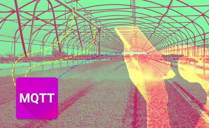 Agriculture IoT using MQTT to transmit messages