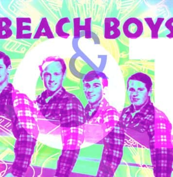 Photo of the Beach Boys and IoT overlaid