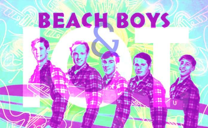 Photo of the Beach Boys and IoT overlaid