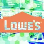 Picture of a Lowes Home Improvement store