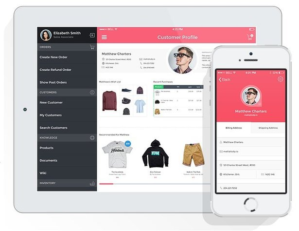 Image of the Tulip omnichannel customer service platform for retail iot