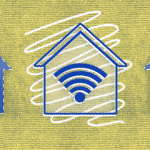 Image of a connected home