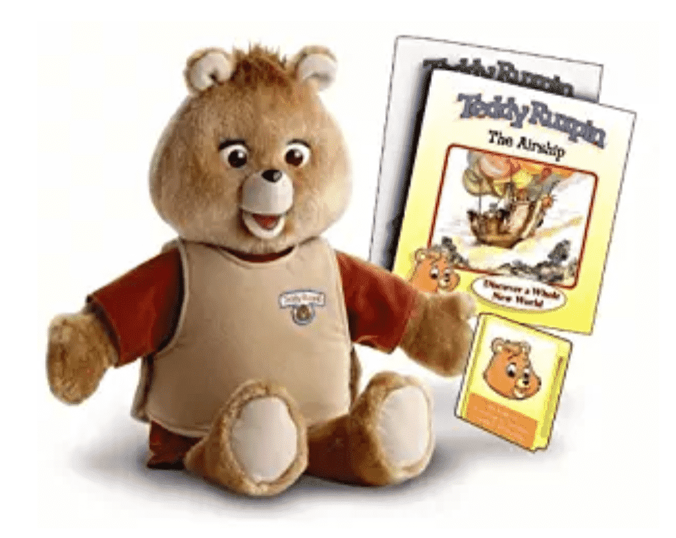 Image of the Teddy Ruxpin toy