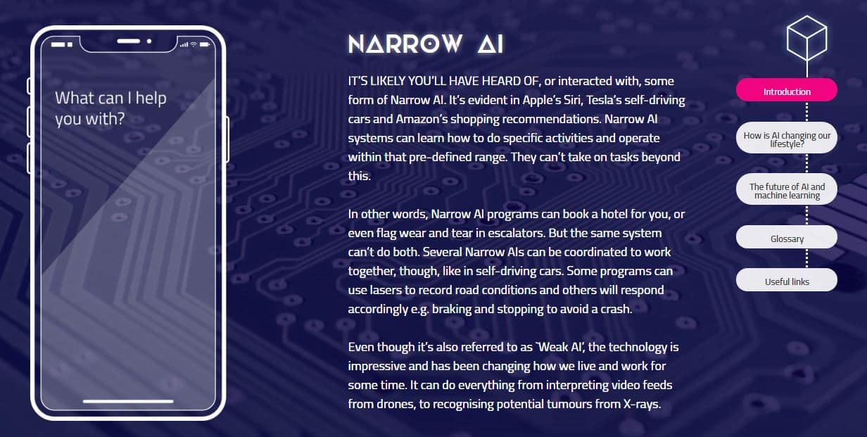 What is Narrow AI