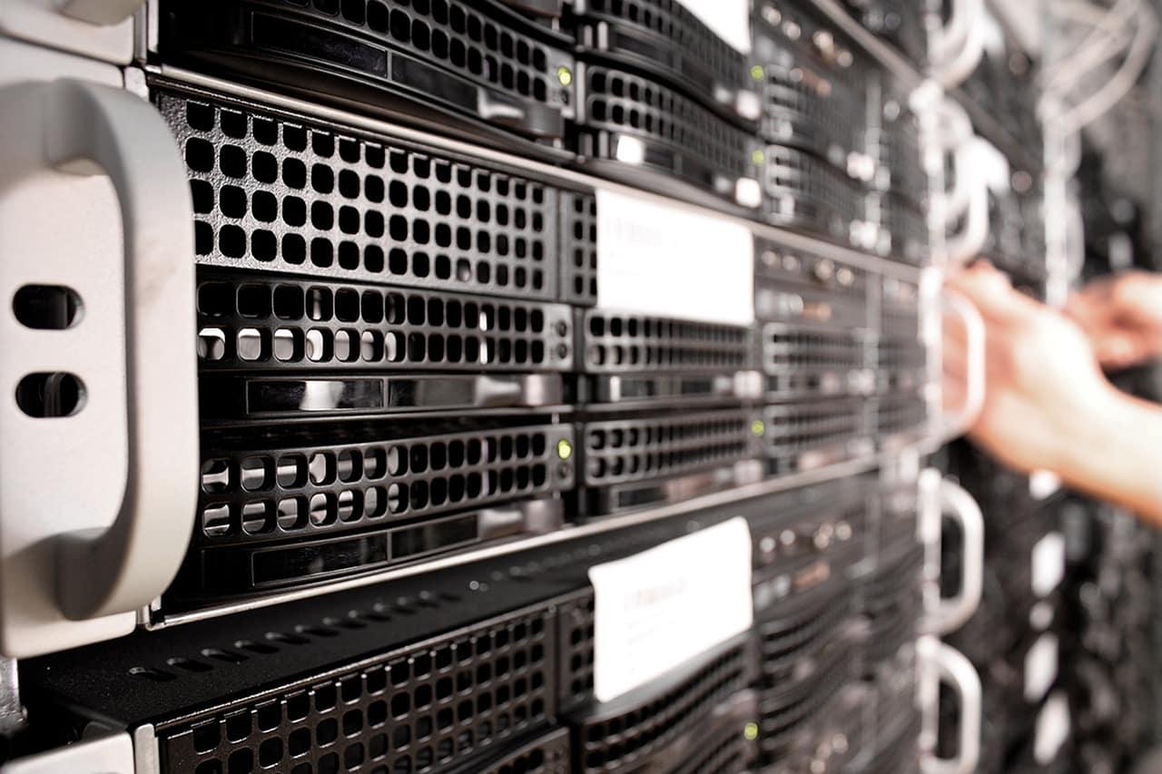 A cooling solution cools cloud server equipment