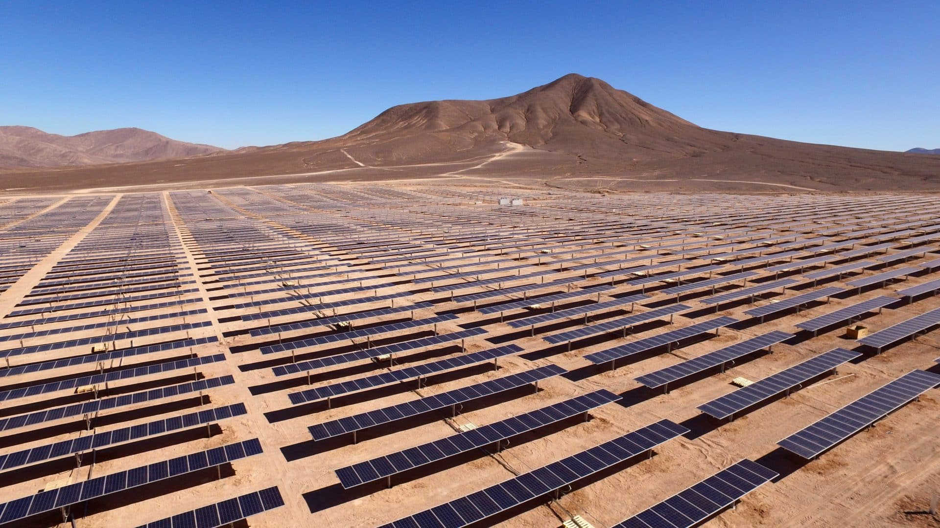A large solar array owned by Statoil