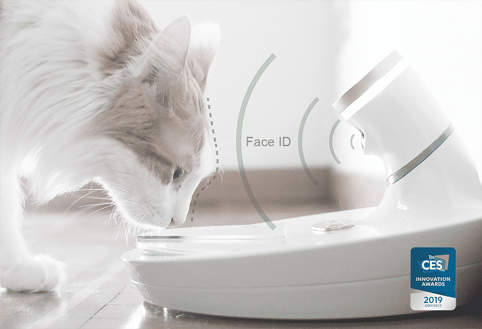 Image of Mookki Pet Recognition Food Dispenser