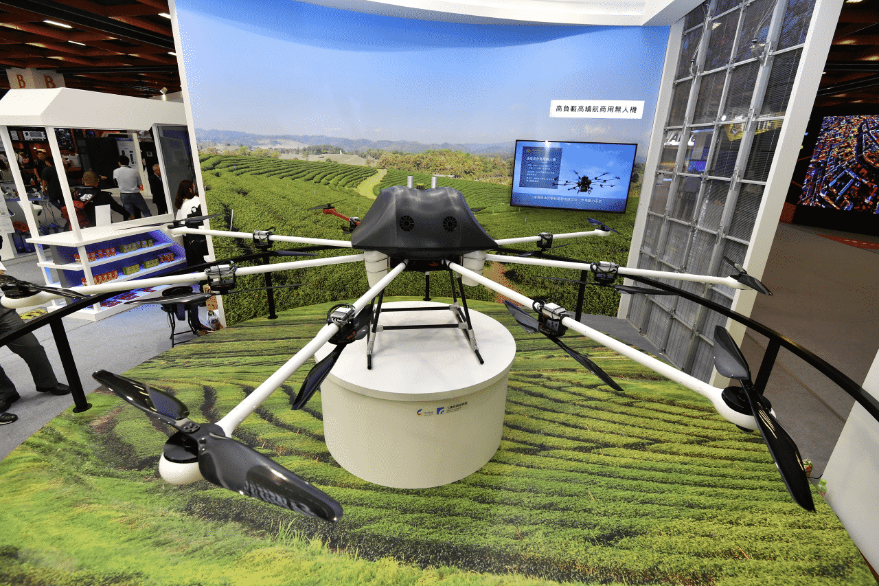 ITRIs Hybrid Power Drone with High Payload and Duration Image