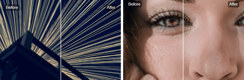 "Let's Enhance: a website that ""uses cutting-edge image super-resolution technology based on deep convolutional neural networks"" to increase photo or image size without losing quality."