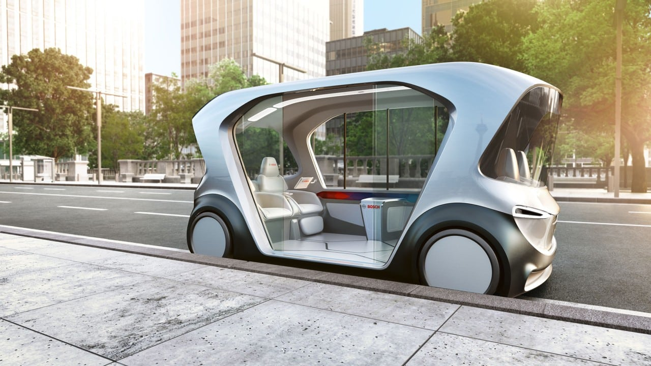 Image of Bosch Autonomous Shuttle