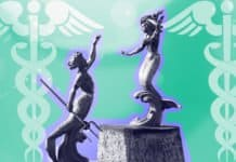 Image of siren statues