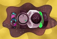 Image of Garmin smartwatches