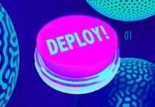 deploy button