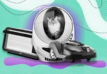 Image of the Litter Robot 3, Automower, and June Oven