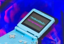 "Image of a Nintendo Gameboy with the words ""Embedded Programming"" written on the screen"