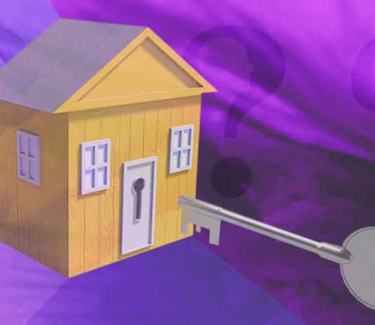 A house and a key