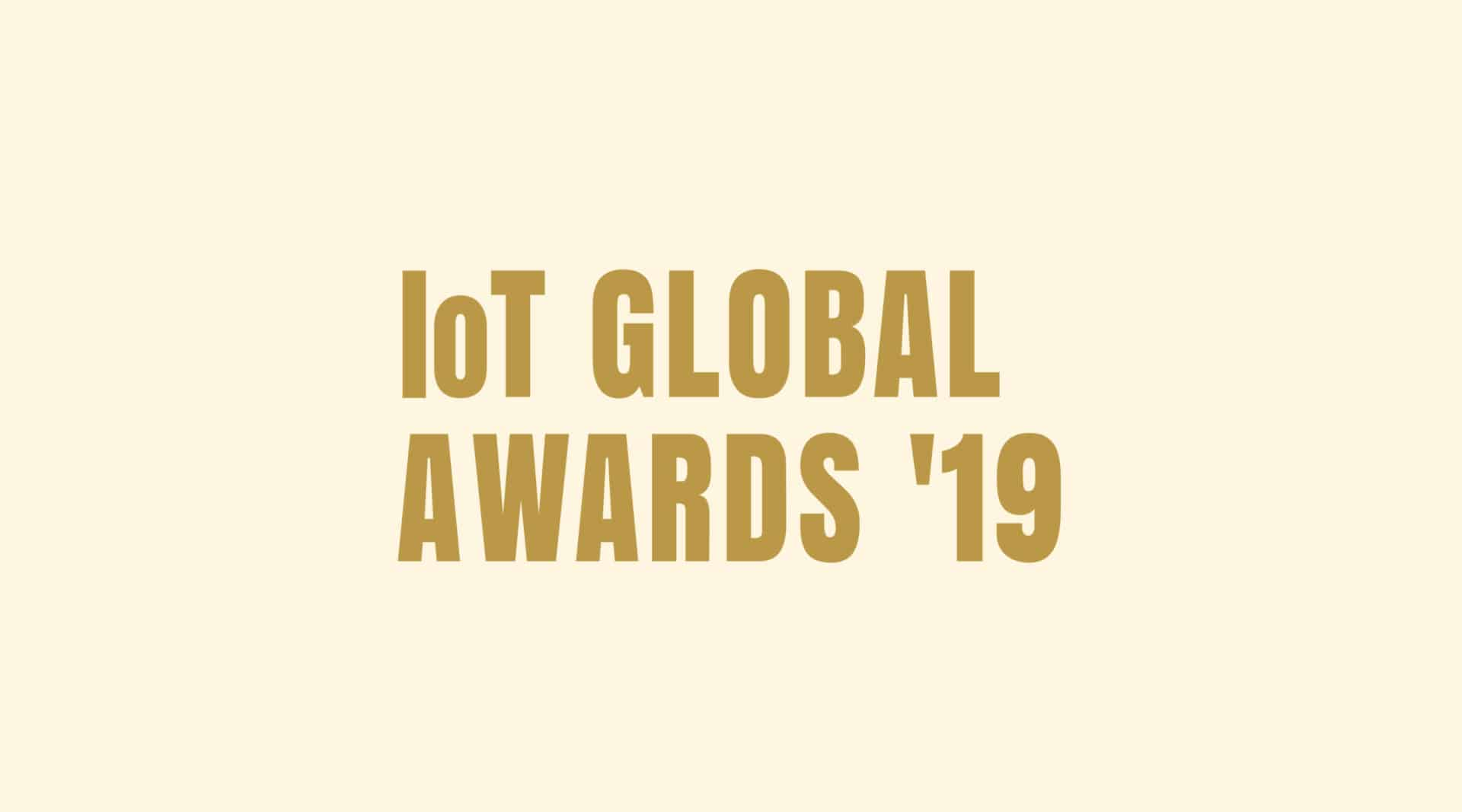 Enter your successful IoT use cases and innovations in the IoT Global Awards 2019