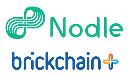 Nodle and Brickchain logos