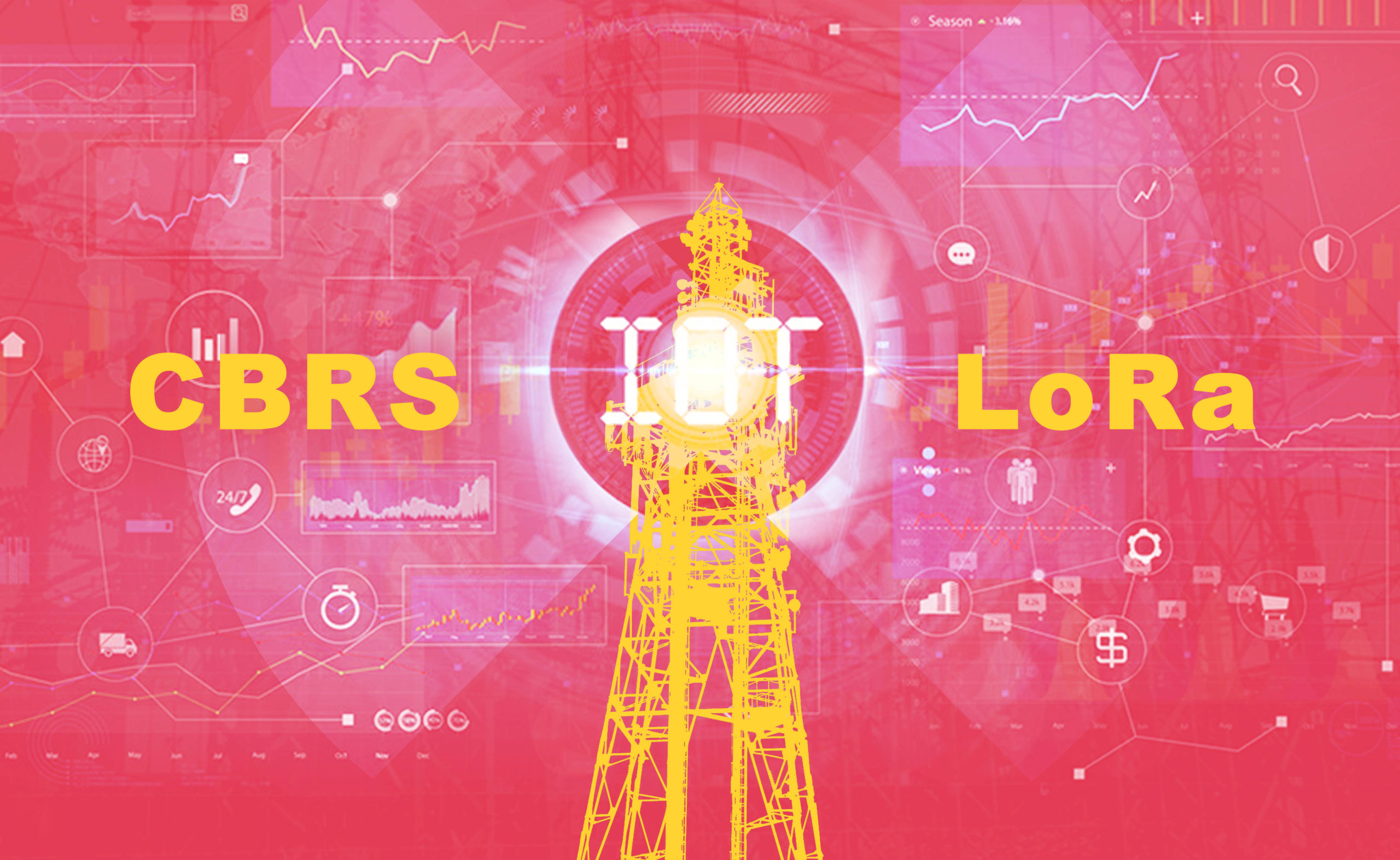 Evolving Private IoT Networks: LoRa and CBRS