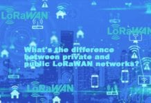 What's the difference between private and public LoRaWAN networks?