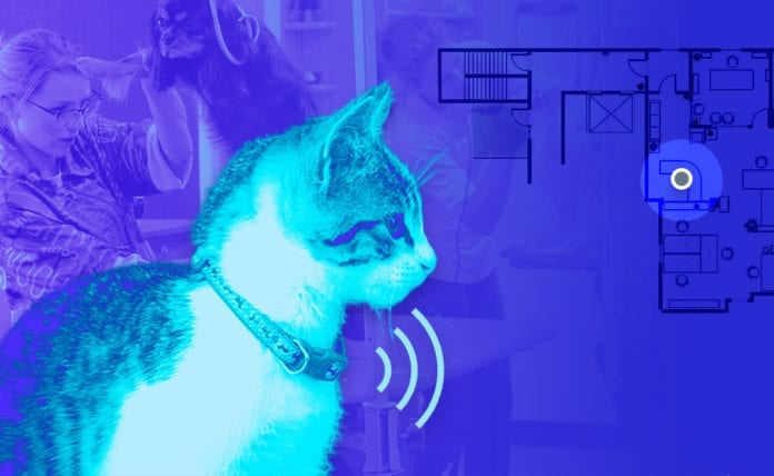 Bluetooth Low Energy Pet tracker