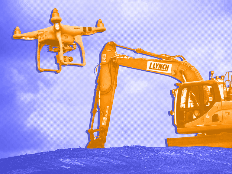 survey drones for construction