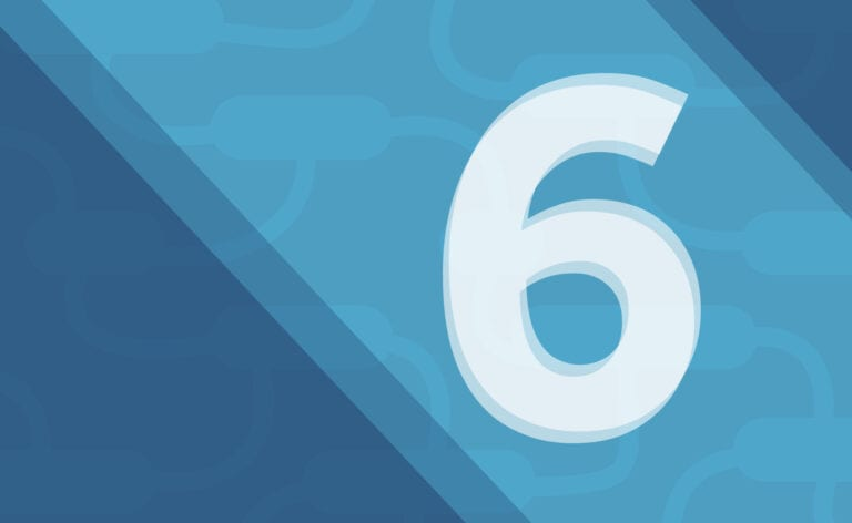 number six graphic