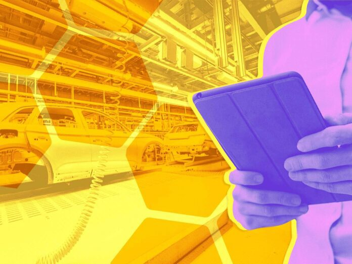 Manufacturing Automation with Mobile Device