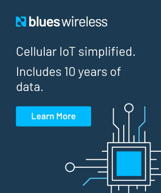 Blues Wireless - Cellular IoT simplified. Includes 10 years of data. Click to learn more.