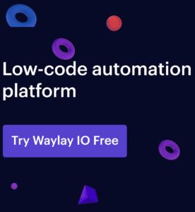 Low-code automation platform